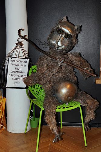Котокафе Республика кошек в Петербурге